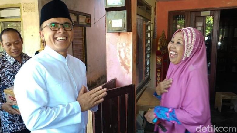 Bupati Anas bertemu Temu Misti (Ardian/detikcom)