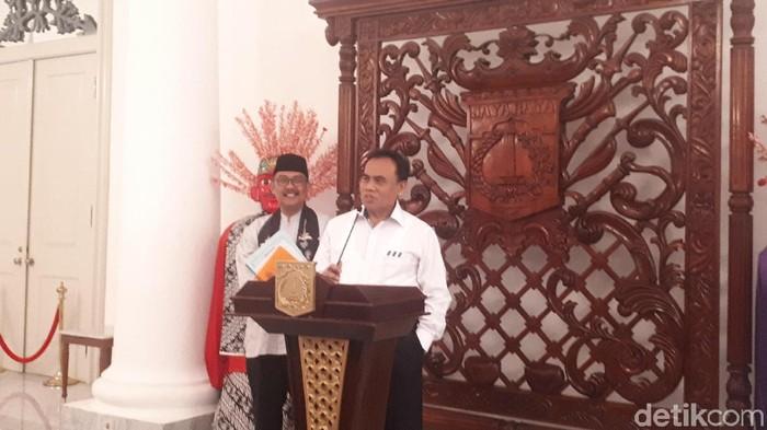 Sekretaris Daerah (Sekda) DKI Jakarta Saefullah (Foto: Dwi Andayani/detikcom)