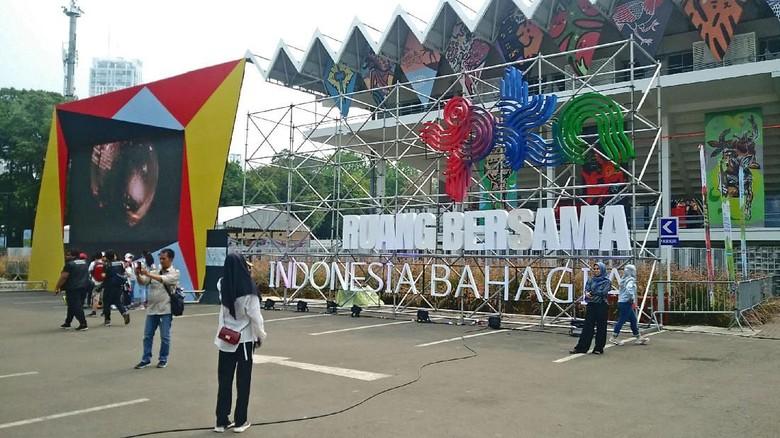 Pekan Kebudayaan Nasional (PKN) 2019 di Istora Senayan (Randy/detikcom)
