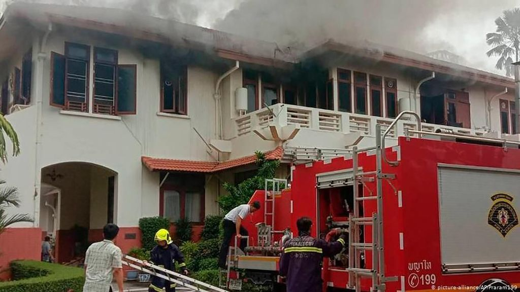 Wisma KBRI di Bangkok Terbakar, Penyebabnya Belum Diketahui