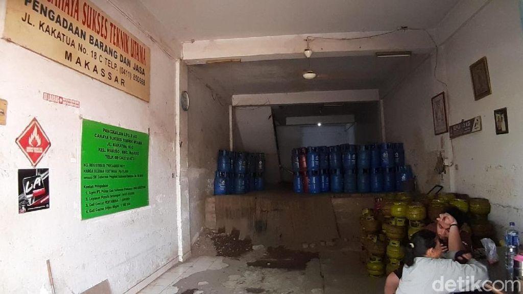 Duh! Gas Elpiji 3 Kg di Makassar Langka