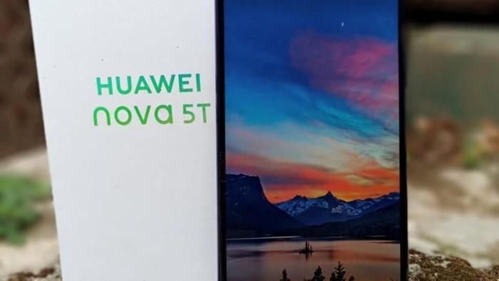 Review Huawei Nova 5T. Foto: Aisyah/detikcom