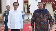 SBY Hadiri Pelantikan Jokowi-Maruf