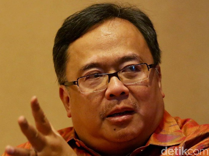 Menristek/Kepala BRIN Bambang Brodjonegoro. Foto: dok. detikcom