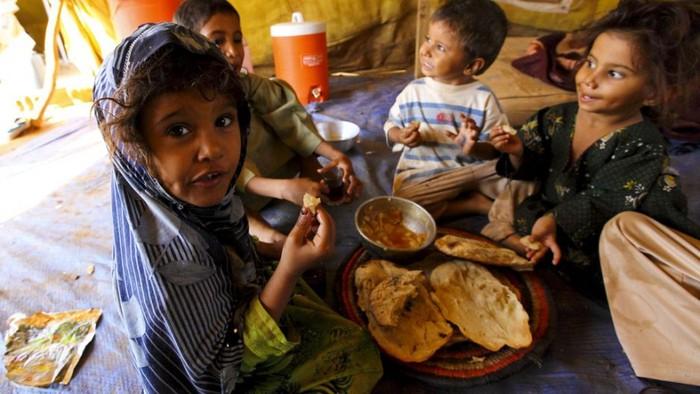 Menurut Perserikatan Bangsa-Bangsa (PBB) dalam laporan terbarunya. Mereka menyebutkan Yaman akan menjadi negara termiskin di dunia, jika perang terus berlanjut.Foto: Istimewa