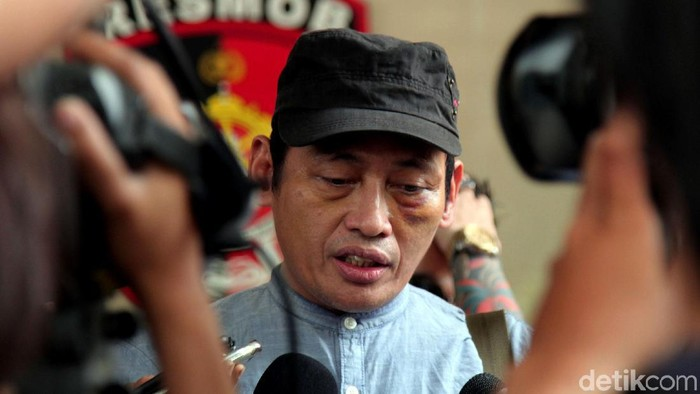Ninoy Karundeng (Lamhot Aritonang/detikcom)