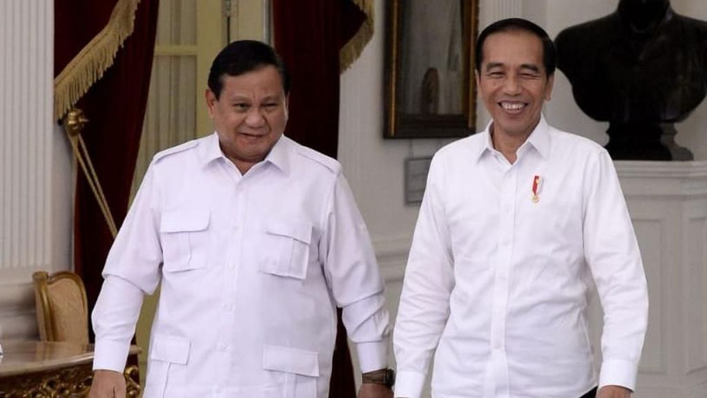 Saat Jokowi Puji Ketelitian Prabowo