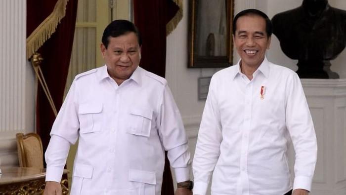Foto: Jokowi dan Prabowo di Istana (Biro Pers Setpres)
