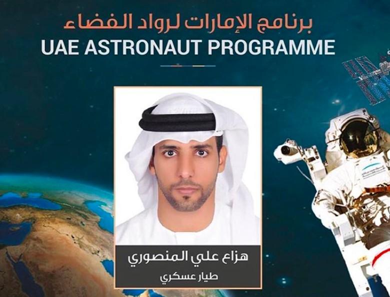 Hazza terpilih dari lebih dari 4.000 pelamar yang diseleksi untuk program astronot Uni Emirat Arab. Foto: Instagram