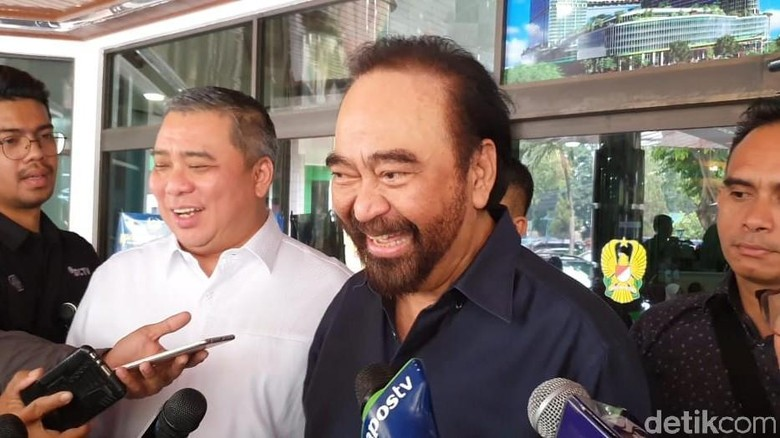Jokowi-Prabowo Bertemu, Surya Paloh: Sangat Memberikan Nilai Positif