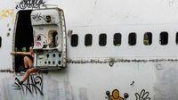 Misteri Bangkai Pesawat di Bangkok
