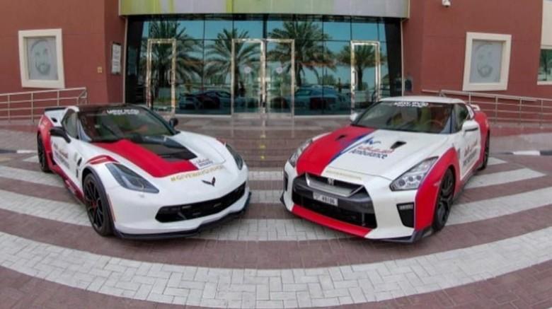 Mobil sport yang jadi ambulans di Dubai Foto: Carscoops