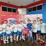 Tim Basket BNI Life Juara Liga Jasa Keuangan 2019