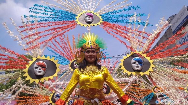Kemeriahan Festival Tjimanoek (Sudirman/detikcom)