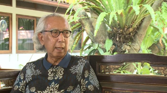 Prof Rahardi Ramelan (Foto: Screenshoot 20detik)