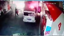Detik-detik Mobil Berasap yang Picu Kebakaran Pom Bensin Cipayung