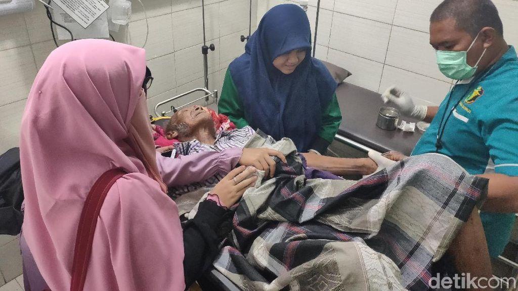 Polda Sumut Turun Tangan Bantu Perawatan Kakek yang Telantar di Medan