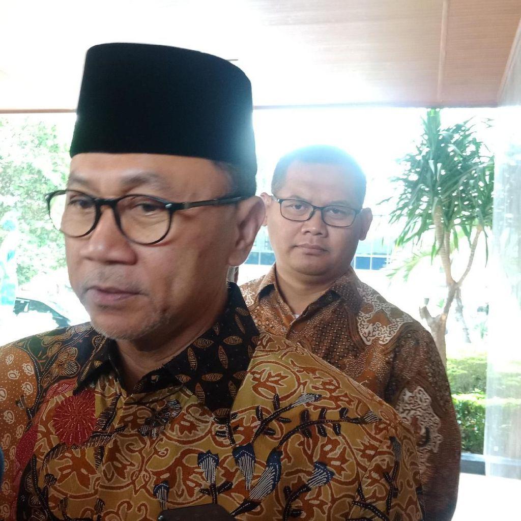 Wanhor Sebut PAN Oposisi, Zulkifli Hasan: Kita Dukung Pak Jokowi