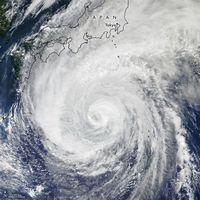 NASA Rekam Seramnya Topan Hagibis dari Angkasa
