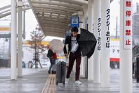 Turis di Jepang Dibuat Penasaran Sama 'Topan Super'