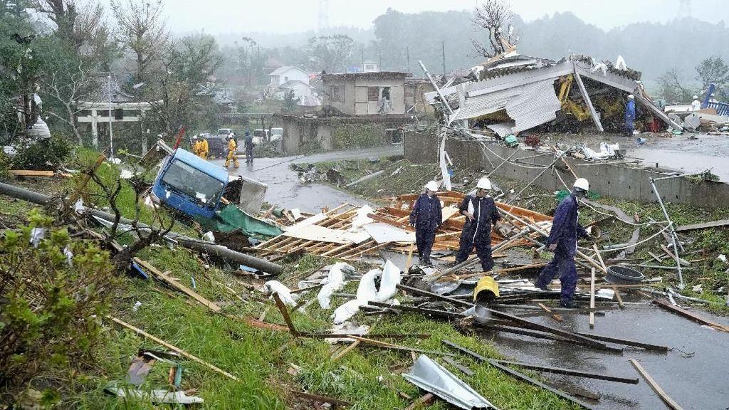 KBRI Tokyo: Tak Ada WNI Jadi Korban Topan Hagibis Jepang