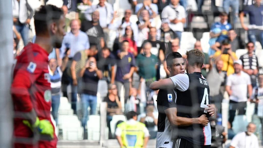 Matthijs De Ligt Punya Kemiripan dengan Cristiano Ronaldo