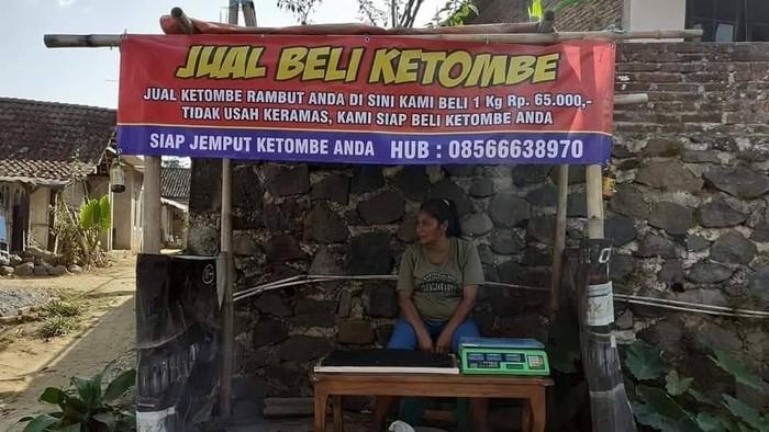 Bisnis jual beli ketombe yang viral di medsos. Foto: Dok Istimewa