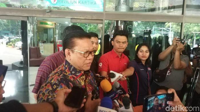 Ketua Dewan Pakar Partai Golkar Agung Laksono (Foto: Dwi Andayani/detikcom)
