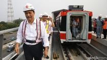 Luhut Klaim LRT Made In Madiun Lebih Canggih dari MRT Buatan Jepang