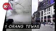 Detik-detik Proyek Hotel Hard Rock di New Orleans Runtuh