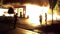 SPBU di Bukittinggi, Sumbar Hangus Terbakar