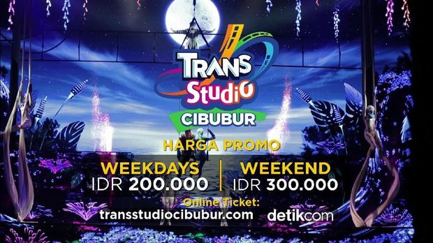 Trans Studio Cibubur Seru Banget, Banyak Wahana Ramah Anak