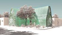 Sekolah Ini Didesain dari Sampah Plastik, Yuk Lihat Penampakannya