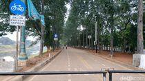 Nasib Jalur Sepeda di KBT yang Kini Jadi Tempat Pacaran Anak Jaktim