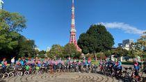 Saat 50 Pegowes Tirtayasa Cycling Team Disambut Topan Hagibis Jepang