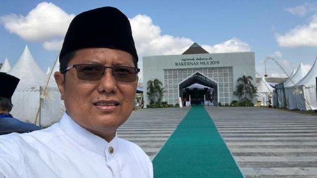 Ketua Komisi Dakwah MUI KH Cholil Nafis dalam meresmikan peluncuran aplikasi 'Dakwah MUI'