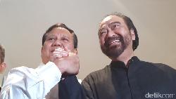 Prabowo-Paloh: Koalisi tanpa Kursi tapi Amandemen Konstitusi, Deal?