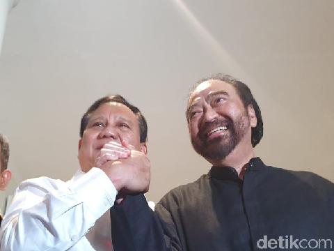 Demokrat Serang Lagi Prabowo-Surya Paloh Soal Amandemen UUD '45