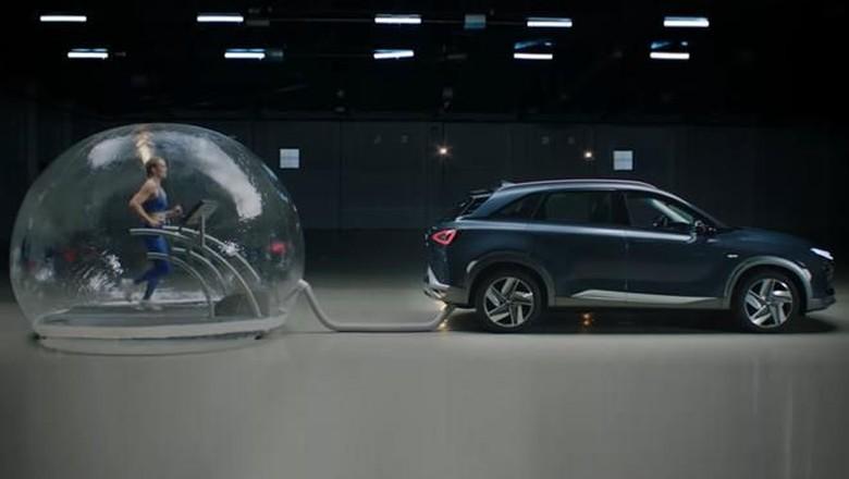 Ilustrasi mobil hidrogen Foto: Hyundai