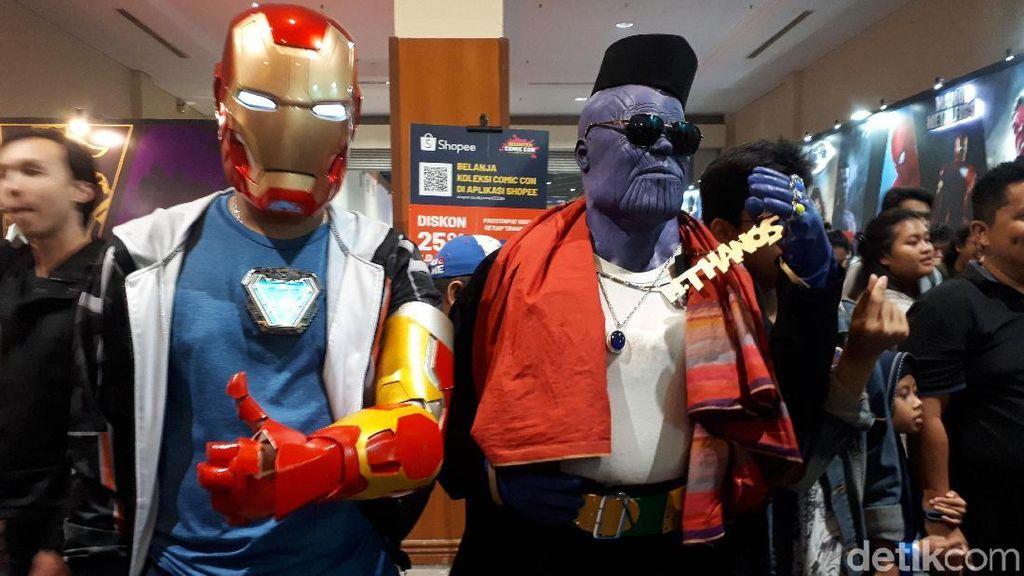 Bertemu Thanos Betawi di Indonesia Comic Con 2019