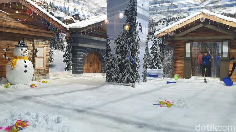 Snow Playground Trans Studio Cibubur (Masaul/detikcom)
