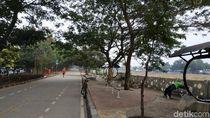 Menyusuri Jalur Sepeda KBT Jakarta: Awalnya Rindang, Lama-lama Gersang