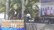 Dari Renang hingga Dayung Meriahkan Peringatan HUT TNI di Ancol