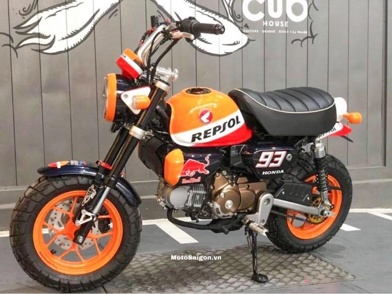 Honda Monkey Berkelir MotoGP. Foto: Dok. MotoSaigon