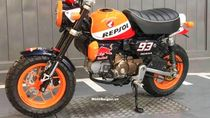 Unik Banget Nih, Honda Monkey Berkelir MotoGP