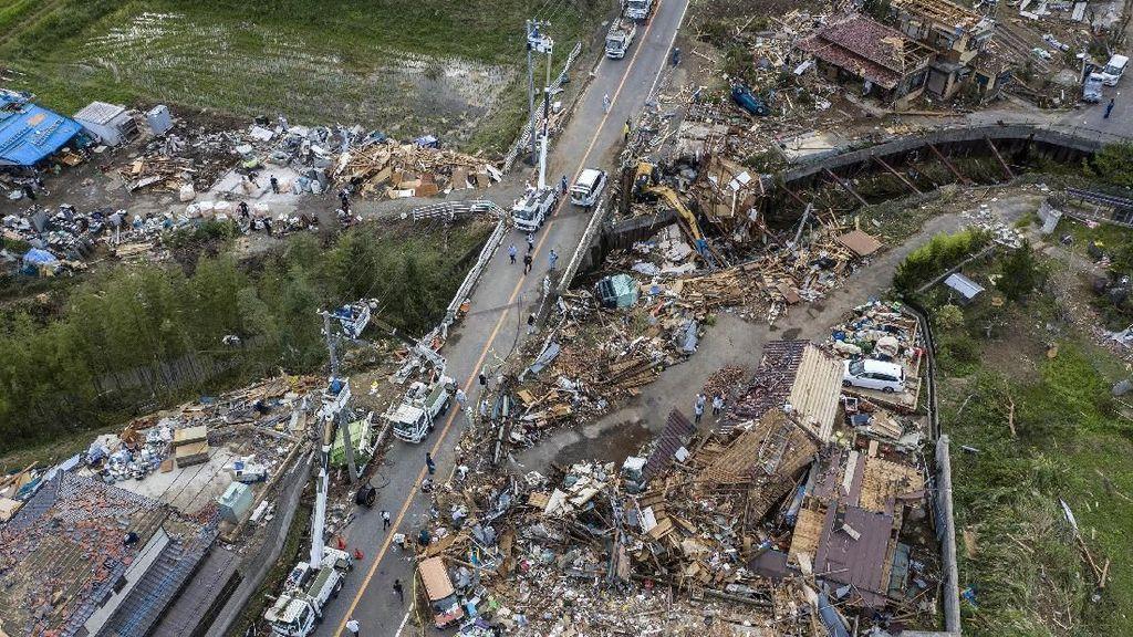 Begini Dahsyatnya Dampak Kerusakan Topan Hagibis di Jepang