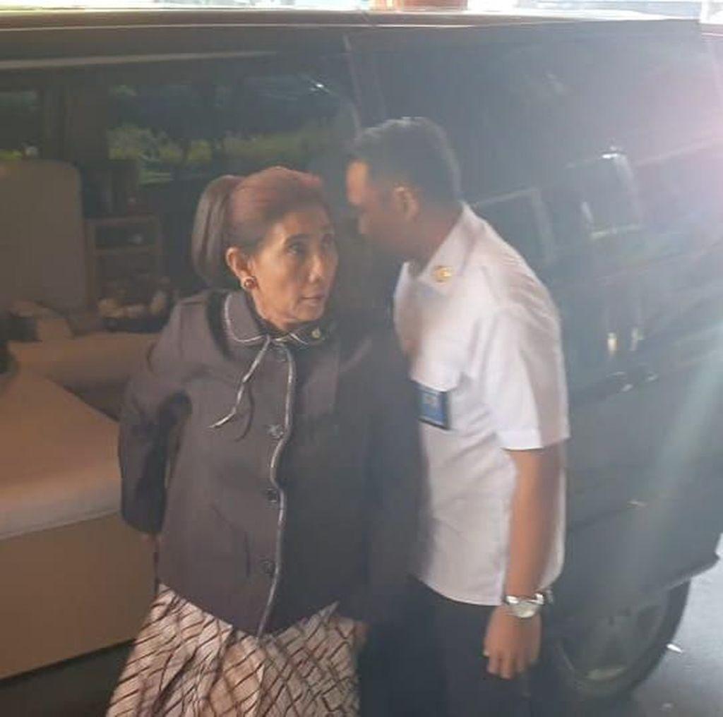 Menteri Susi Kembali Jenguk Wiranto di RSPAD Gatot Subroto