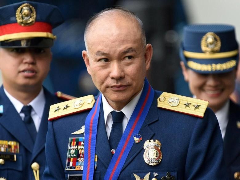 Dituduh Terlibat Skandal Narkoba, Kepala Kepolisian Filipina Mundur