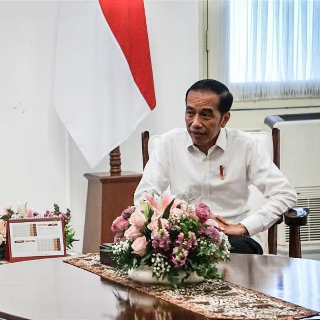 Bertemu Zulkifli Hasan, Jokowi Selisik Soal Amandemen UUD 1945