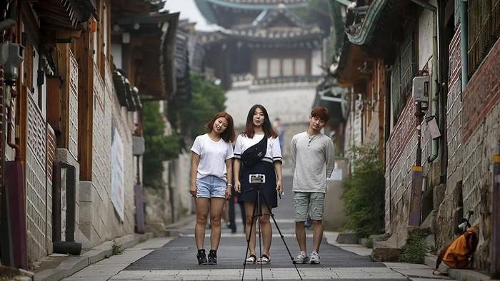 Aktivitas para remaja di Korea Selatan (Foto: Reuters)